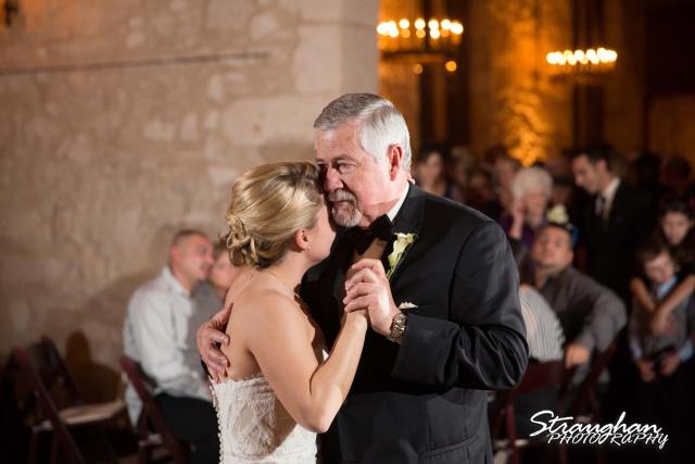 Carly's wedding Southwest School of Art dad