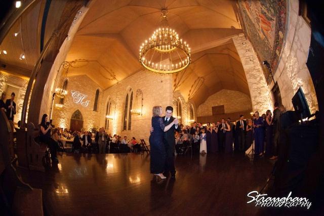 Carly's wedding Southwest School of Art mom dance