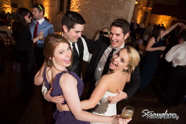Carly's wedding Southwest School of Art group dance