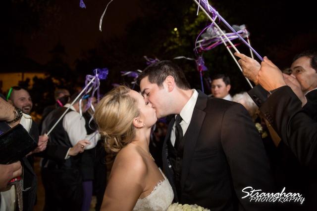 Carly's wedding Southwest School of Art exit