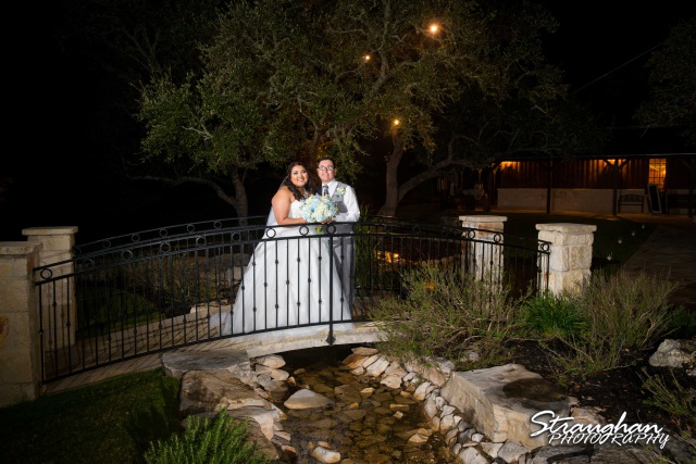 Cheyenne wedding the Springs Boerne on the bridge