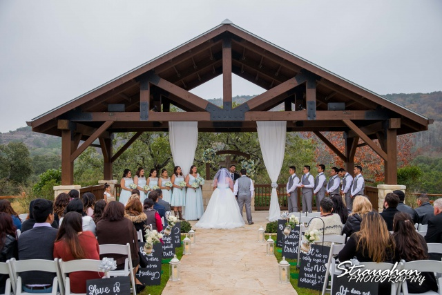 Cheyenne wedding the Springs Boerne ceremony