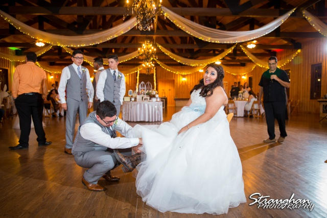 Cheyenne wedding the Springs Boerne garter