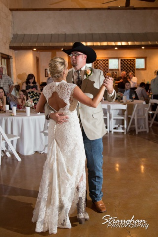 The vineyard at Gruene chelsey wedding first dance