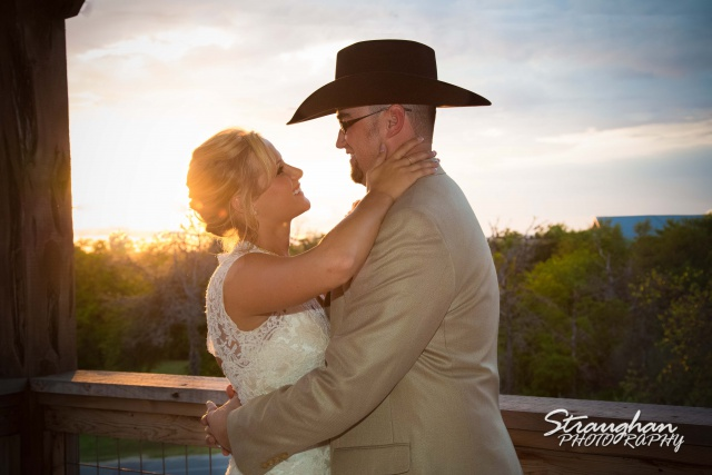 The vineyard at Gruene chelsey wedding couple sunset
