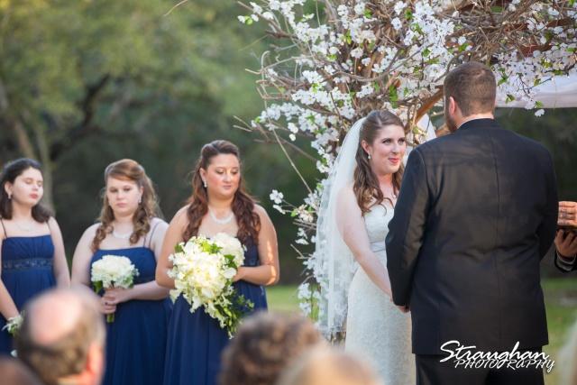 Cody Wedding Los Encinos the bride and maids