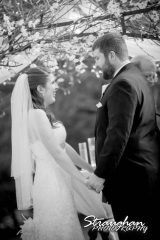 Cody Wedding Los Encinos bride laughing
