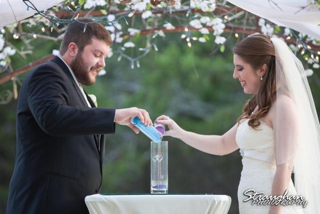 Cody Wedding Los Encinos sand cermony