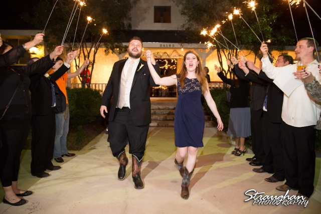 Cody Wedding Los Encinos exit