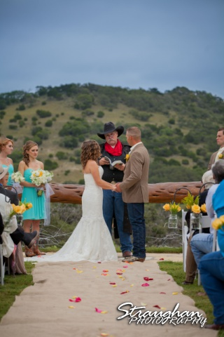 Samantha wedding Happy H Ranch sermon