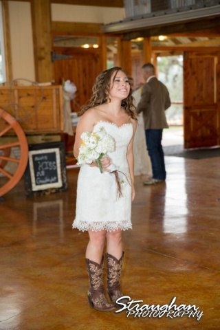 Samantha wedding Happy H Ranch her intro