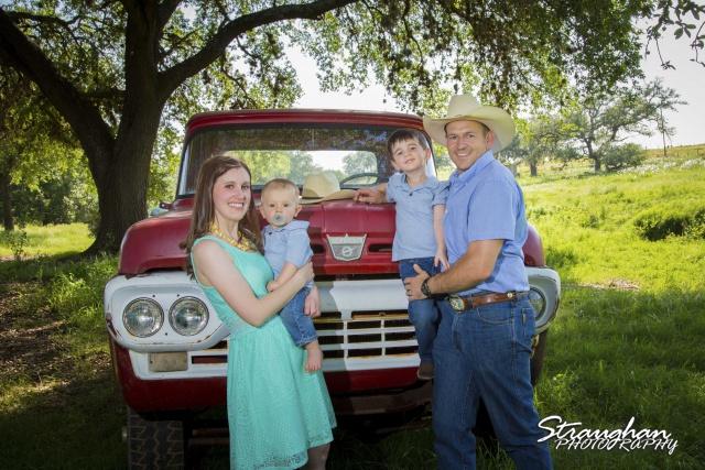 Davenport Family, Lytle, Texas.