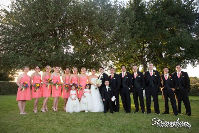 Erin Wedding Gardens of Cranesbury View bridal party