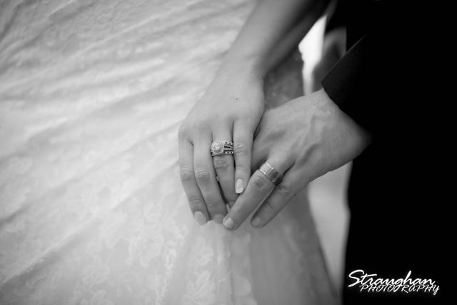 Erin Wedding Gardens of Cranesbury View the hands