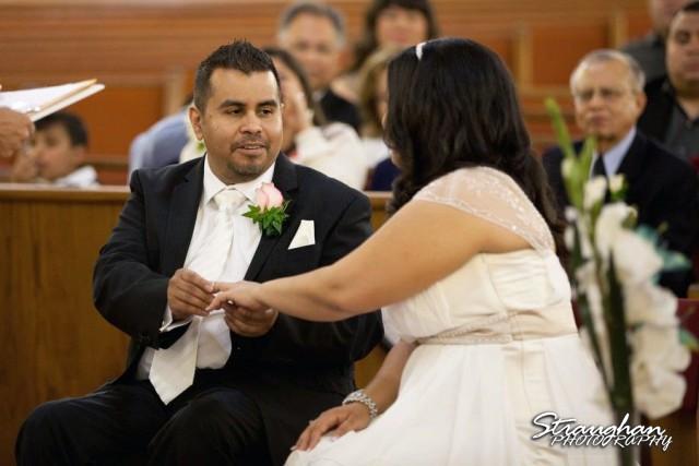 Church wedding Denise