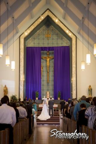 Dora and Johnny's Wedding at St. Mary Magdalen Catholic Church, San Antonio, TX