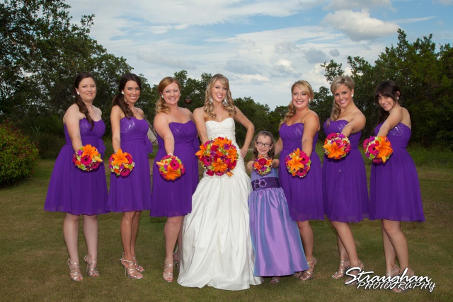 Kelli wedding San Antonio girls photo