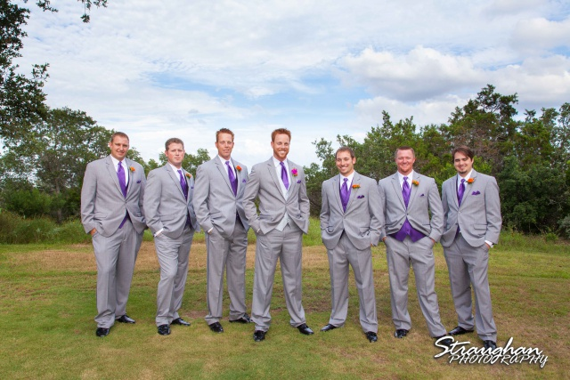 Kelli wedding San Antonio guys photo