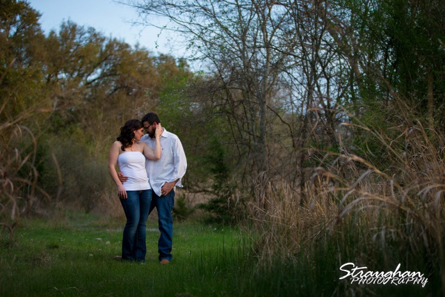 Elana's Engagement Cibolo Natural Area soft sunset