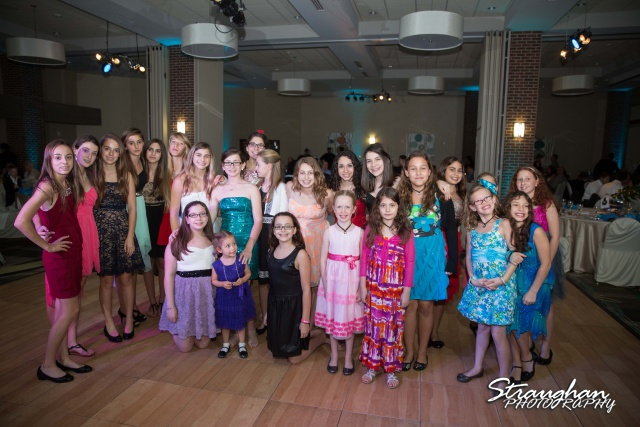 Emily's Bat Mitzvah friends
