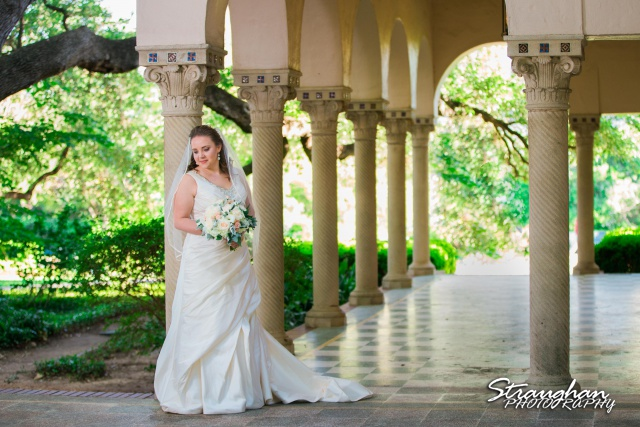 E Murray Bridal sitting Landa Library end of arches