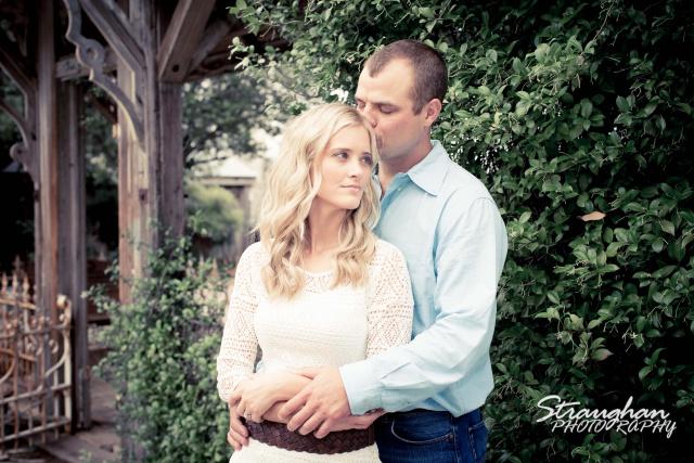 Lynn-Nathan's engagement Gruene, TX. outside gazebo