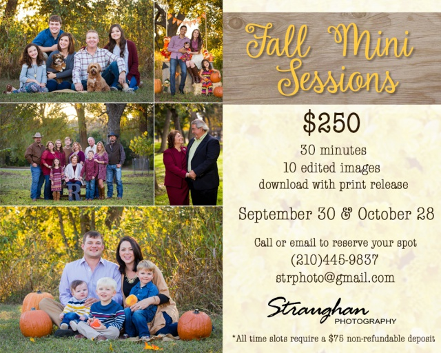 Fall 2017 mini Sessions
