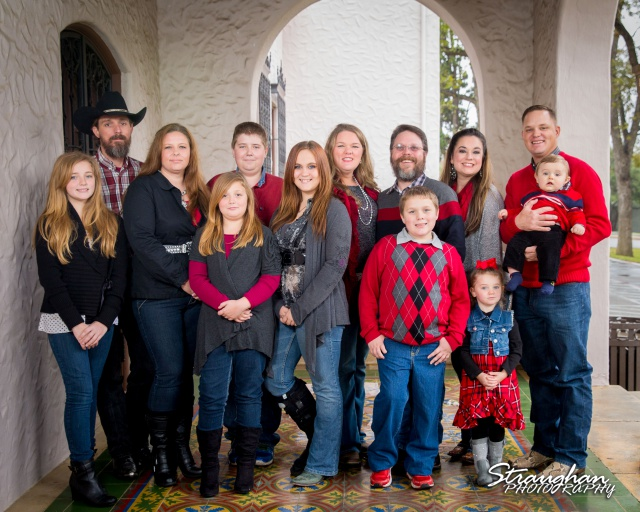 Straughan Family Photos 2015 McNay