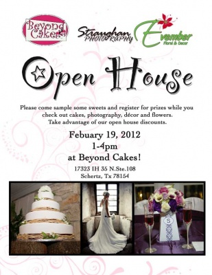 Open House with Straughan Photography, Beyond Cake and Evember