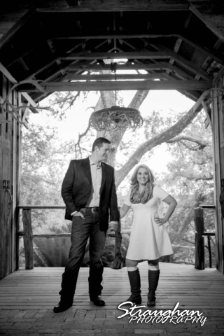 Heather engagement Gruene in antler tunned bw