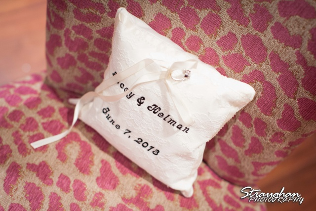 Lacey wedding Granberry Hills pillow