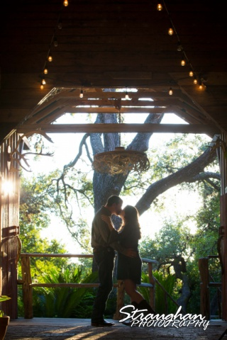 Heather and Wes's engagement session Gruene antler room