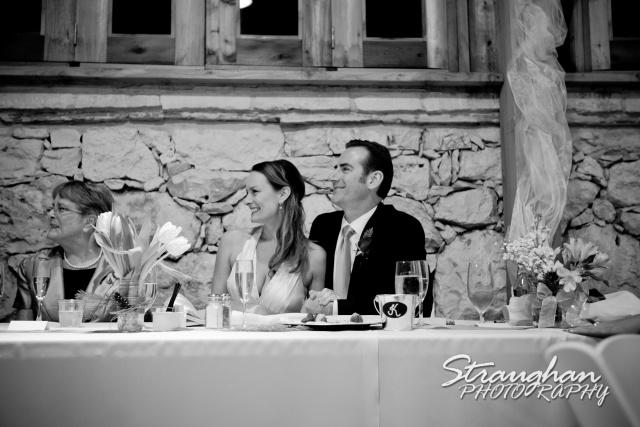 Milltown wedding New Braunfels toasts