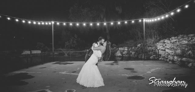 Jessica wedding the Lodge at Bridal Veil Falls private moment