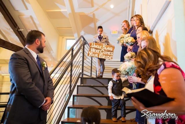 Blais & Jessica wedding the Lodge at Bridal Veil Falls rig bearer