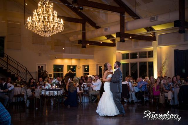 Jessica wedding the Lodge at Bridal Veil Falls first dance