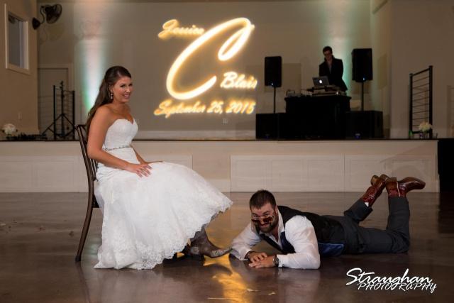Blais_Jessica wedding the Lodge at Bridal Veil Falls garter grab