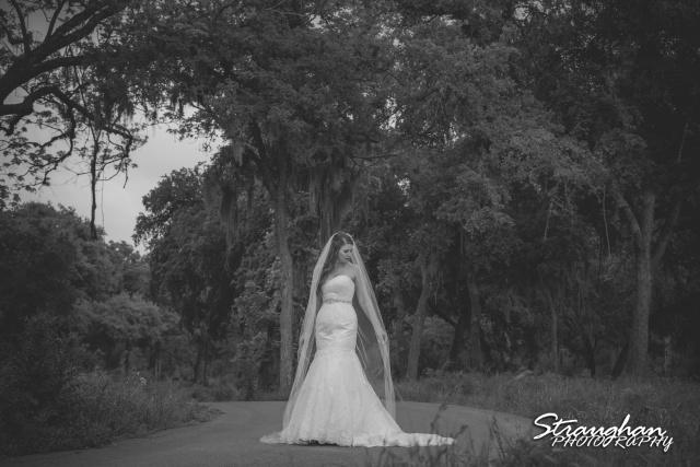 Jess Birdy Bridal the Lodge at Bridal Veil Falls on the road