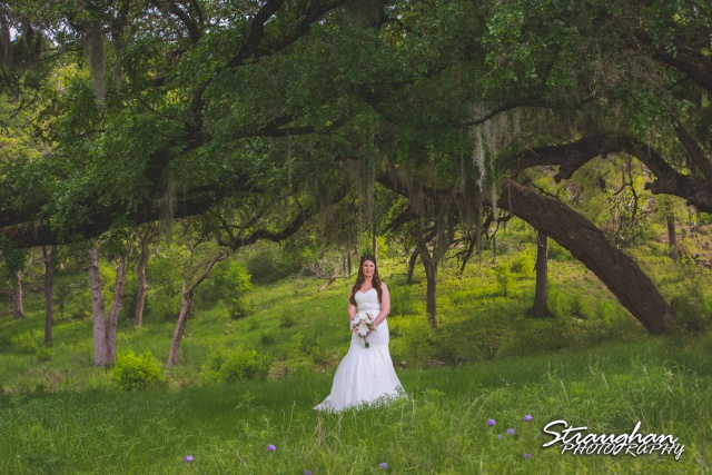 Jessica in the field at the Lodge at Bridal Veil Falls