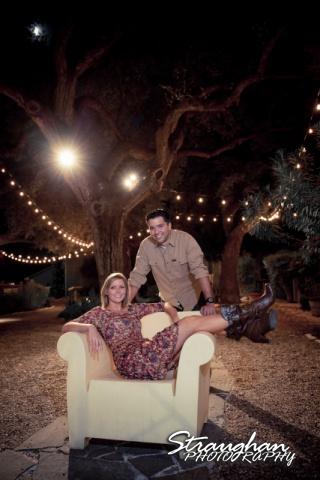 Carlos engagement Gruene chair fun color