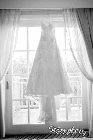Jessica wedding Hyatt Hill Country Resort dress