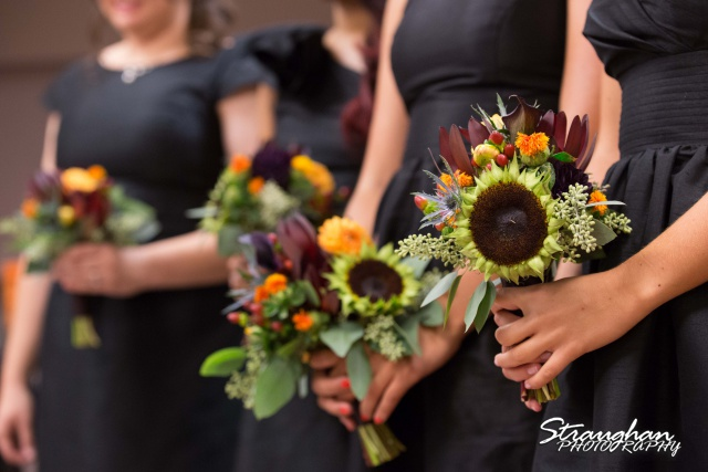 Cristina wedding St. Peters the Apostle Catholic Church Boerne bridesmaids flowers