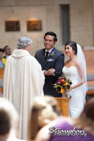 Cristina wedding St. Peters the Apostle Catholic Church Boerne vows