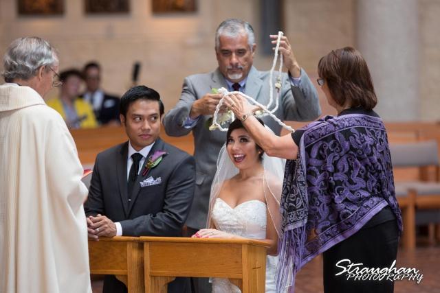Cristina wedding St. Peters the Apostle Catholic Church Boerne lasso