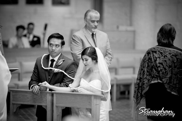 Cristina wedding St. Peters the Apostle Catholic Church Boerne lasso prayer