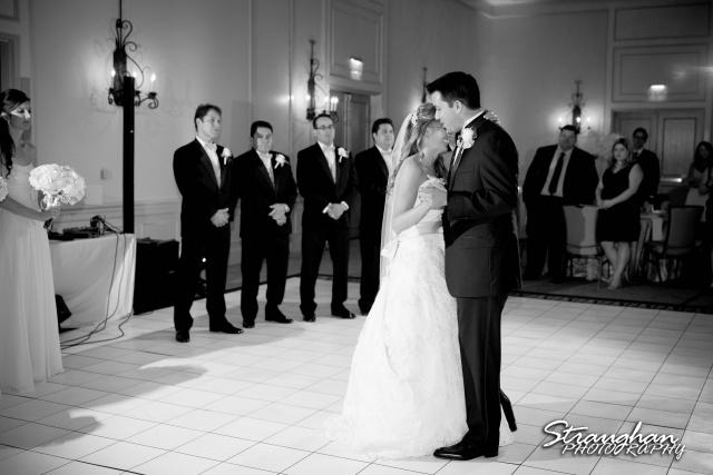 Jessica wedding Hyatt Hill Country Resort the first dance