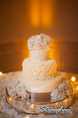 Jessica wedding Hyatt Hill Country Resort cake