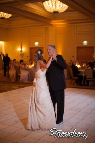 Jessica wedding Hyatt Hill Country Resort dad dance