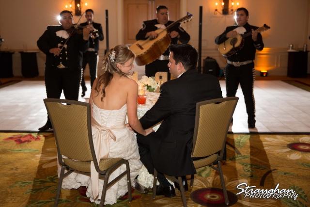 Jessica wedding Hyatt Hill Country Resort mariachi time