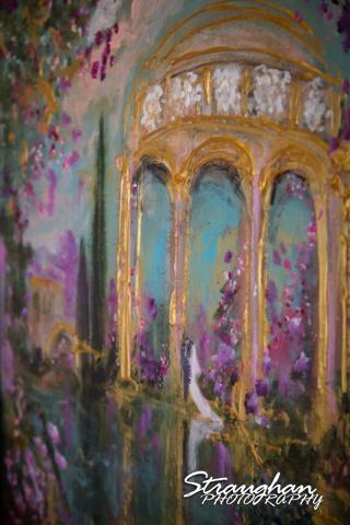 Cristina wedding St. Peters the Apostle Catholic Church Boerne painting